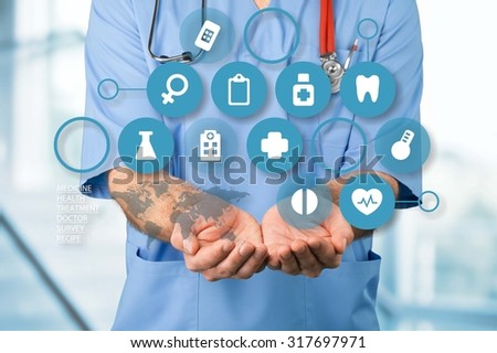 Medical service. - stock photo
