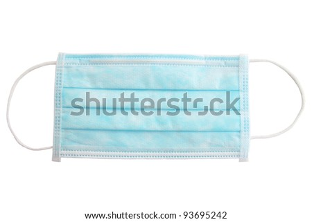 Medical shielding bandage against the white background - stock photo