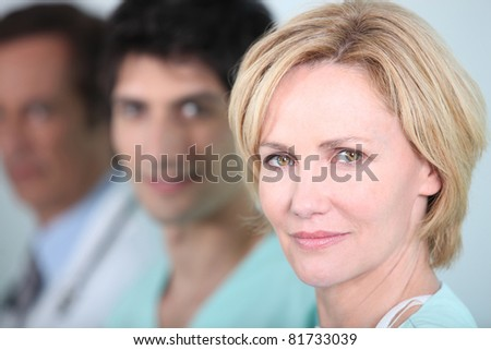 Medical staff - stock photo