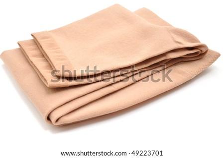 Medical stockings, isolated on white - stock photo