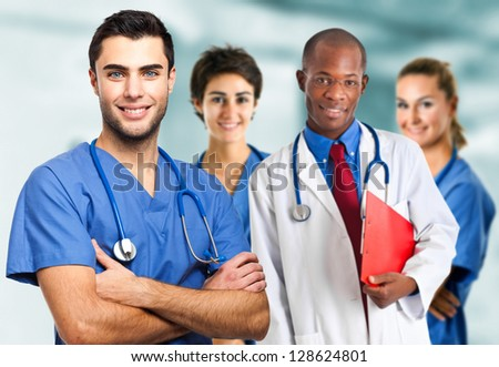 Medical team - stock photo
