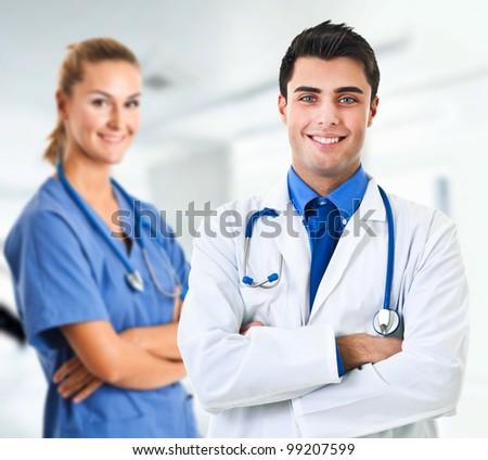 Medical team - stock photo