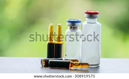 medical treatment and phamacy store - stock photo