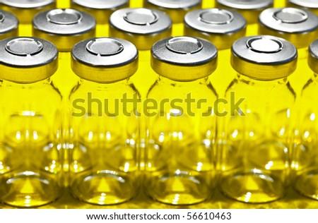 Medical vials - stock photo