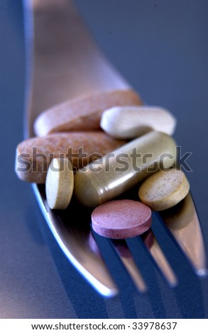 medication - stock photo