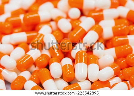 Medicine pills - stock photo