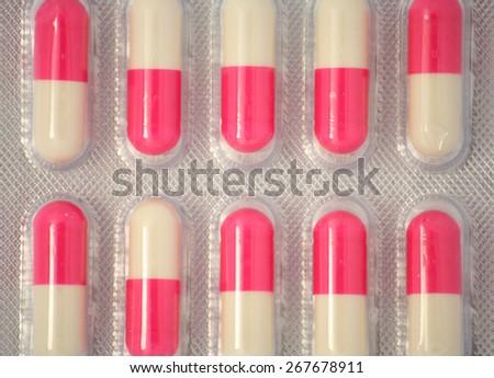 Medicine Pills - stock photo