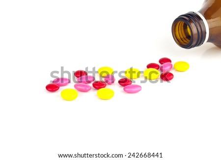 medicine set - stock photo