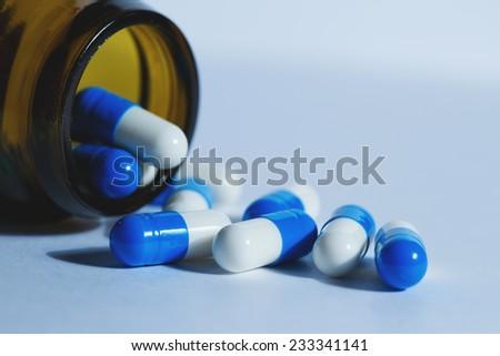 medicine. tablets medicine, pills - stock photo