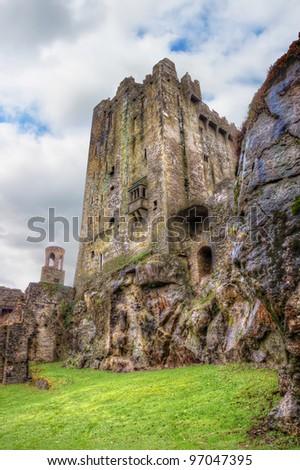 Medieval Blarney Castle in Co. Cork - Ireland. - stock photo