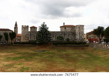 Medieval castle like fortification