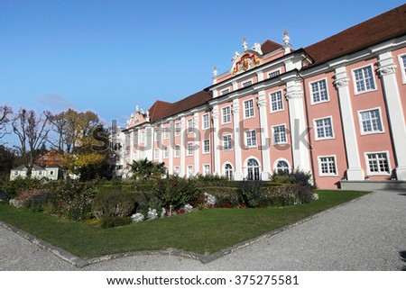 medieval castle of Meersburg at Lake Constance, Germany