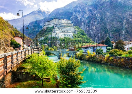 Bard stock images royalty free images vectors for Arredo bagno valle d aosta