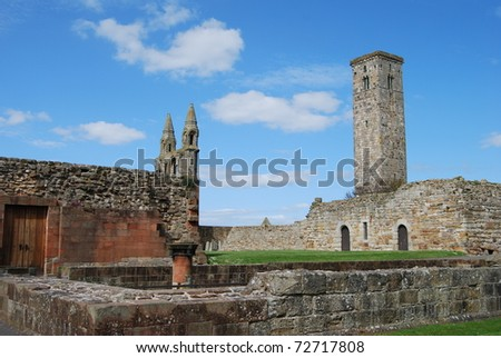 Medieval Cathedral - stock photo