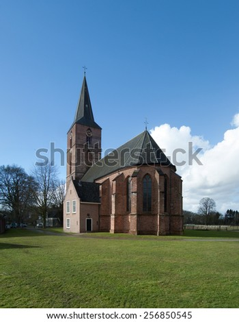 Medieval church of Rolde.