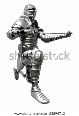 Medieval Knight in Shining Armour - Knights Pledge 3