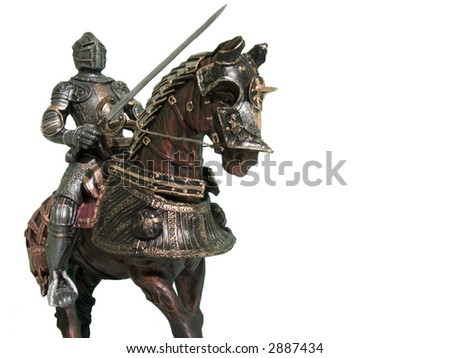 Medieval Knights - Various images depicting re-enactments of medieval period facets of life