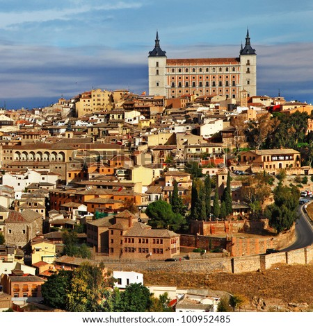 medieval Spain - Toledo - stock photo