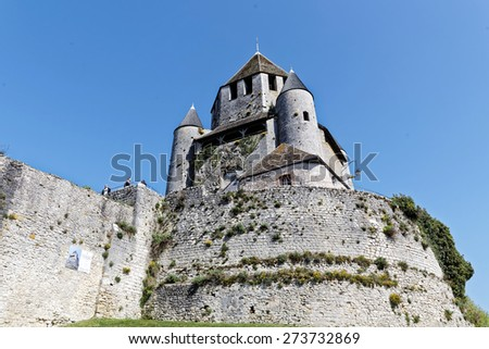 medieval tower Cesar in Provins in France