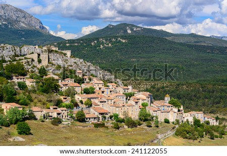 Medieval Village from the south of France, Provence