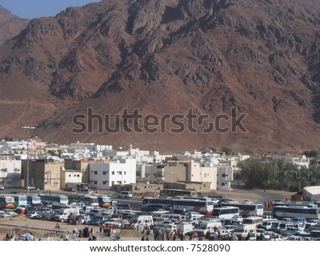 Medina city - stock photo