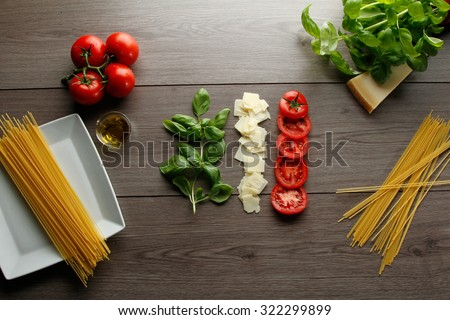 Mediterranean food - stock photo