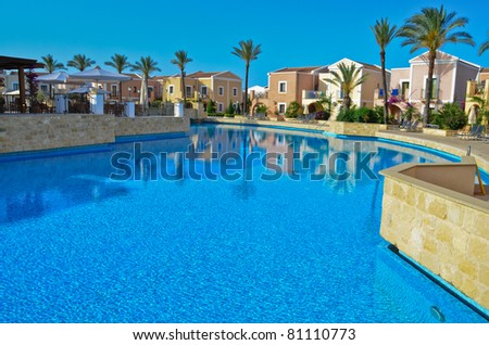 Mediterranean holiday resort
