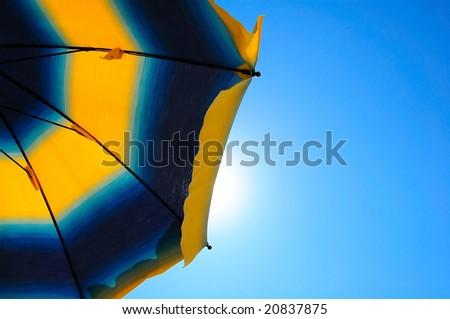 Mediterranean Parasol - stock photo