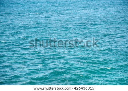 Mediterranean Sea. - stock photo