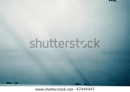 medium format filmstrip background - stock photo