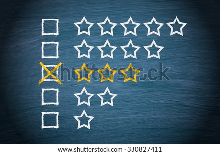Medium Performance - 3 Stars with Checkbox