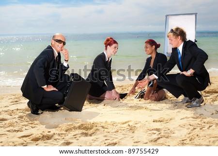 Meeting - stock photo