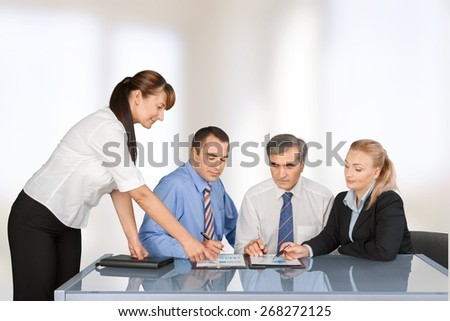 Meeting. Meeting - stock photo