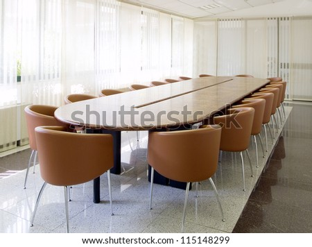 meeting room - stock photo
