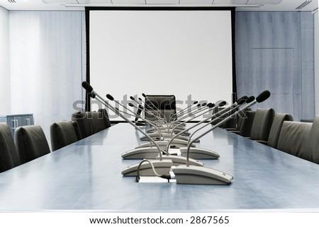 meeting room - stock photo