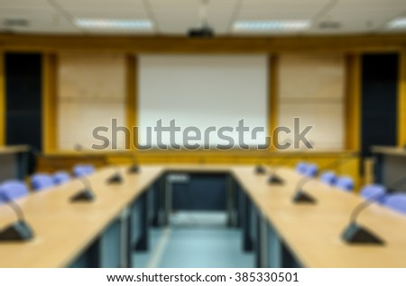 meeting room Blur background