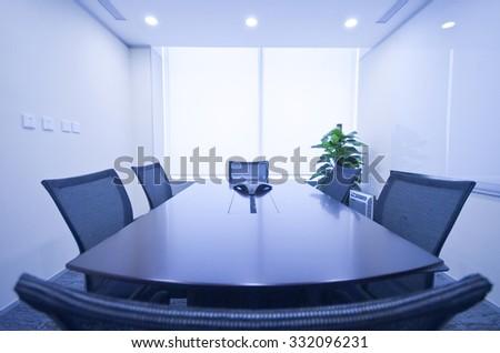 meeting room, Office, boardroom, Classroom - stock photo