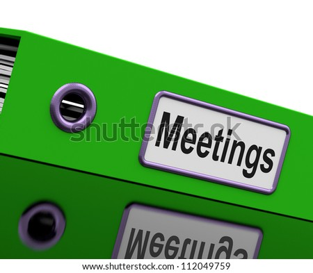 Meetings File Show Minutes Of Company Discussion