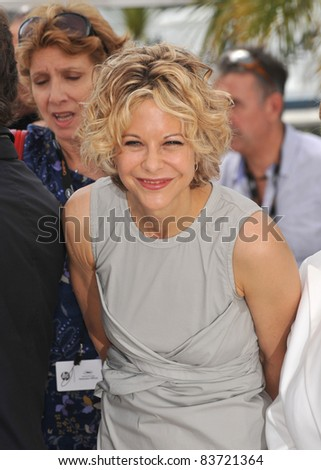 "Meg Ryan at photocall for ""Countdown to Zero"" at the 63rd Festival de Cannes. May 16, 2010  Cannes, France Picture: Paul Smith / Featureflash"