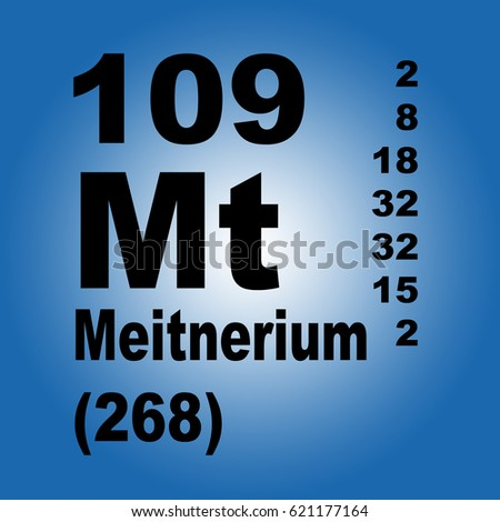 Meitnerium periodic table elements stock illustration 621177164 meitnerium periodic table of elements urtaz Images