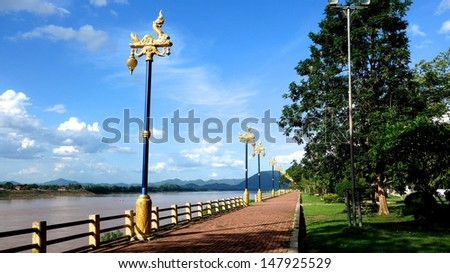 Mekong River - stock photo
