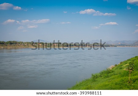 Mekong River in thailand