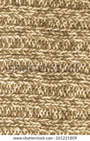 Melange knitted texture or background. Toned. - stock photo