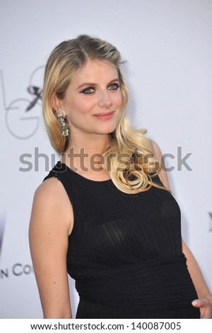 Melanie Laurent at amfAR's 20th Cinema Against AIDS Gala at the Hotel du Cap d'Antibes, France May 23, 2013  Antibes, France - stock photo