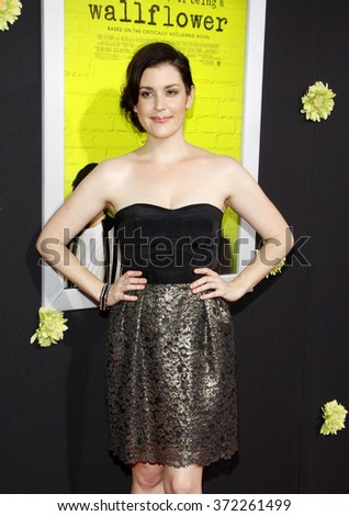 Melanie Lynskey at the Los Angeles premiere of 'The Perks Of Being A Wallflower' held at the ArcLight Cinemas in Hollywood, USA on September 10, 2012.
