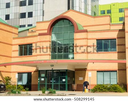 Cartoon school building series cartoon buildings stock for Upton builders