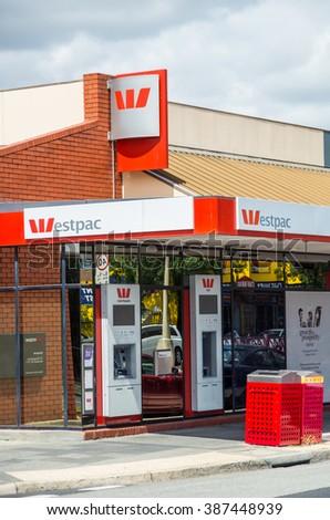 springvale westpac australia bank corporation melbourne banking largest second february shutterstock branch zealand both