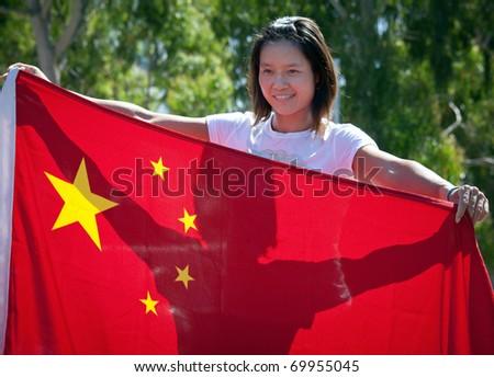 MELBOURNE - JANUARY 28: Li Na of China poses before her 2011 Australian Open fina against Kim Clijstersl. January 28, 2011 in Melbourne, Australia. - stock photo