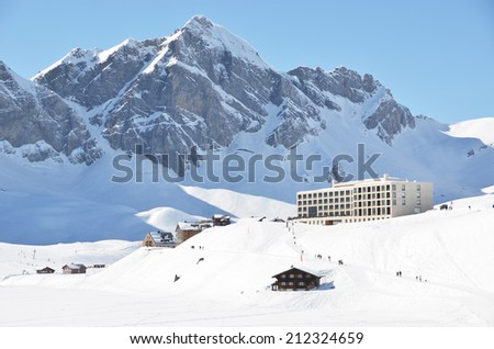 Melchsee-Frutt, Switzerland  - stock photo