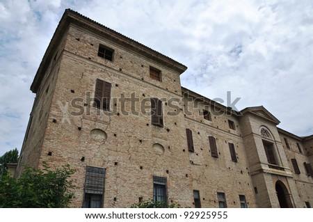 Meli Lupi Fortress of Soragna. Emilia-Romagna. Italy. - stock photo